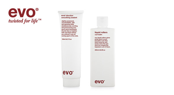 Evo produkter - kan købes hos frisør Karina Hvas