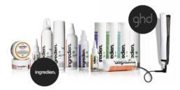 produkter fra Ingredien og GHD
